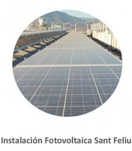 Instalación Fotovoltaica Sant Feliu