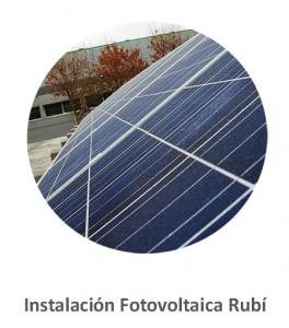 Instalación Fotovoltaica Rubí
