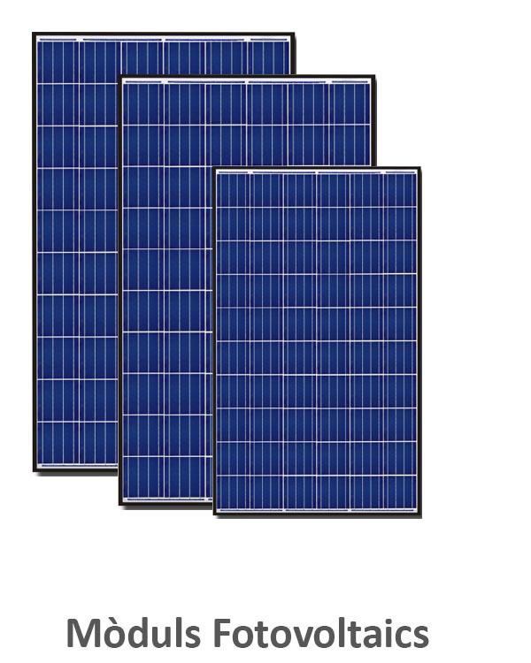 Mòduls Fotovoltaics