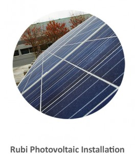 Rubi Photovoltaic Installation