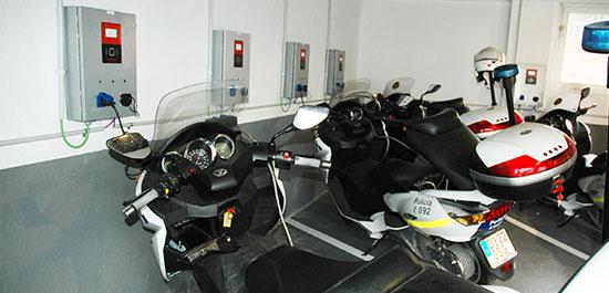 cargador moto